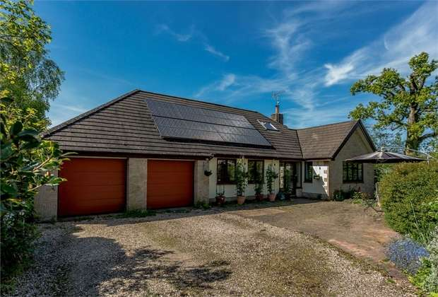 5 Bedrooms Detached Bungalow for sale in Kerswell, Cullompton, Cullompton, Devon