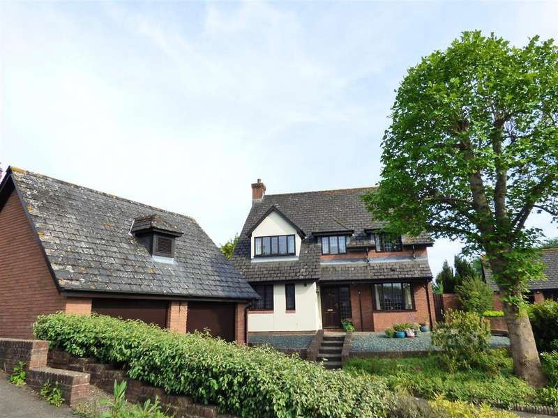 4 Bedrooms Detached House for sale in Centurions Court, Caerwent