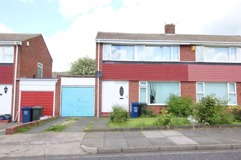 3 Bedrooms Semi Detached House for sale in Bedford Place, Chapel House, Newcastle Upon Tyne, NE5