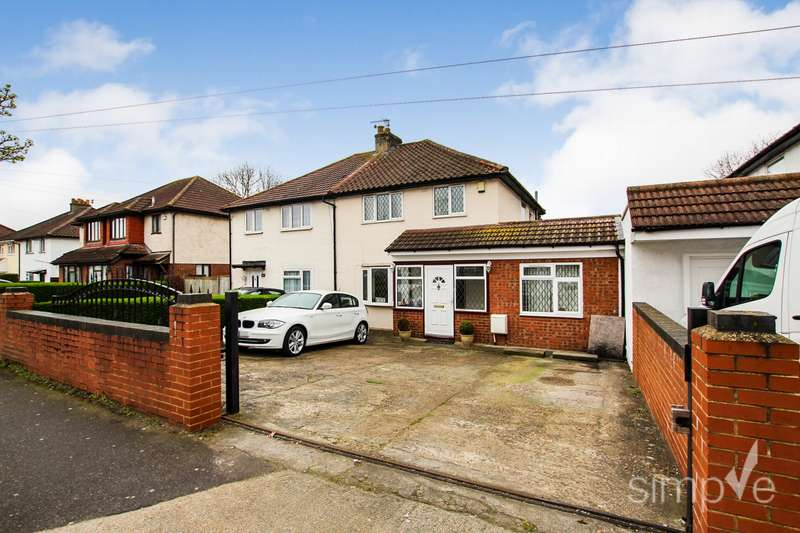 4 Bedrooms Semi Detached House for sale in Hunters Grove, Hayes, UB3