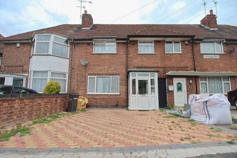 3 Bedrooms Town House for sale in Wicklow Drive, Leicester, LE5