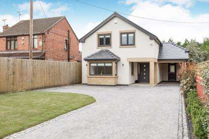 3 Bedrooms Detached House for sale in Elworth Road, Ettiley Heath, Sandbach, Cheshire