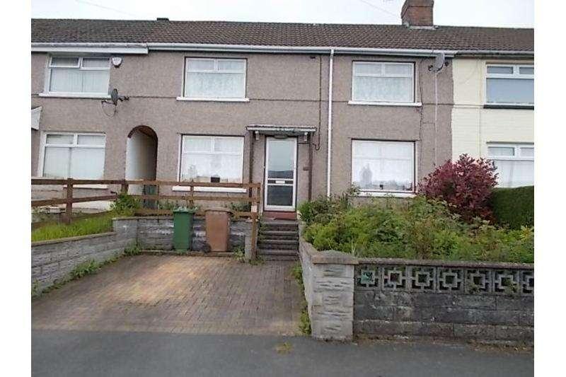 3 Bedrooms Terraced House for sale in Fflorens Road, Treowen, Newbridge
