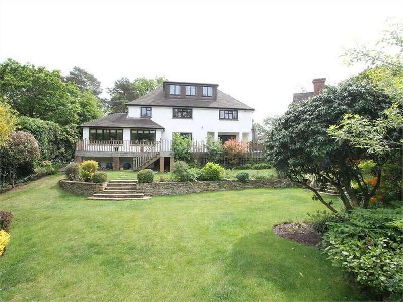 5 Bedrooms Detached House for sale in Belton Road, Camberley, Surrey