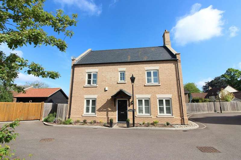 4 Bedrooms Detached House for sale in 'The Farmhouse', Pedley Farm Close, Clifton, SG17