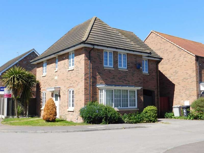 4 Bedrooms Detached House for sale in Bishop Tozer Close, Burgh Le Marsh, Skegness, PE24 5JF