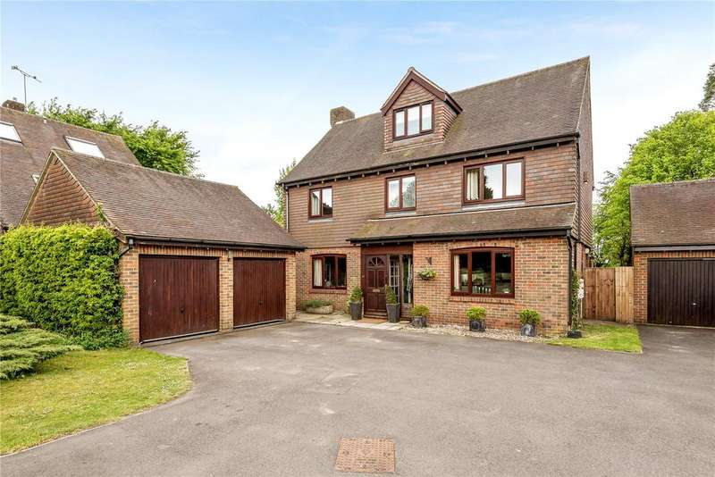 5 Bedrooms Detached House for sale in Fairfax Close, Winchester, Hampshire, SO22