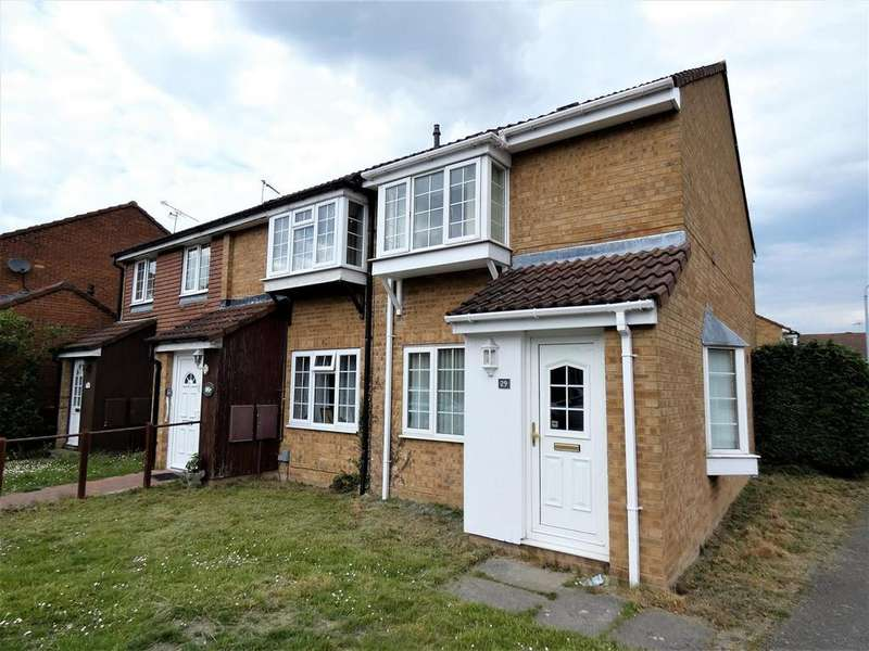 2 Bedrooms End Of Terrace House for sale in Tennyson Avenue, Dunstable