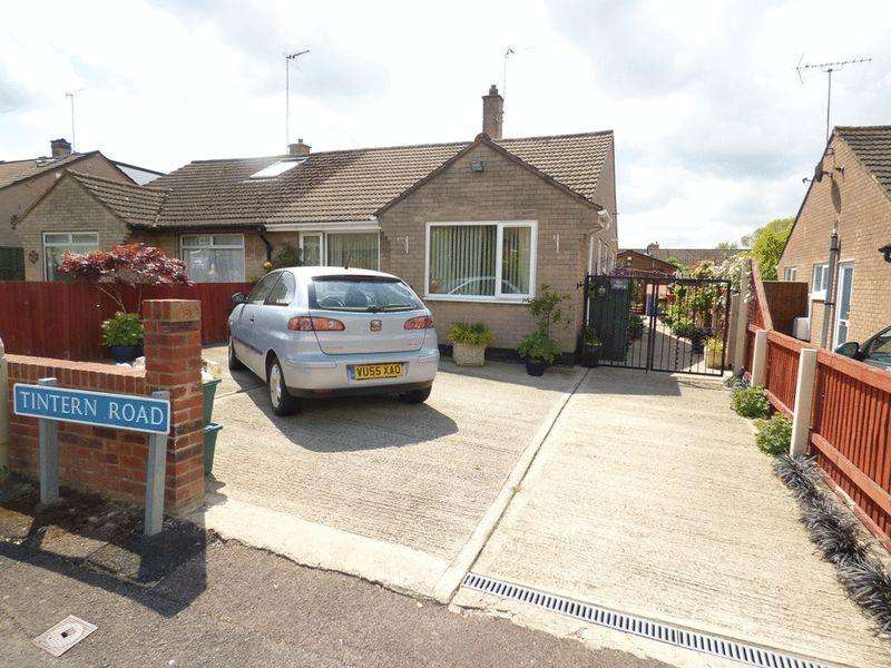2 Bedrooms Semi Detached Bungalow for sale in Tintern Road, Gloucester