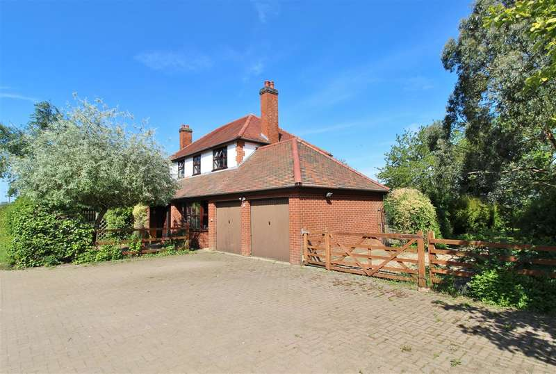 4 Bedrooms Detached House for sale in Willoughby Walks Farm, Walks Road, Sleaford