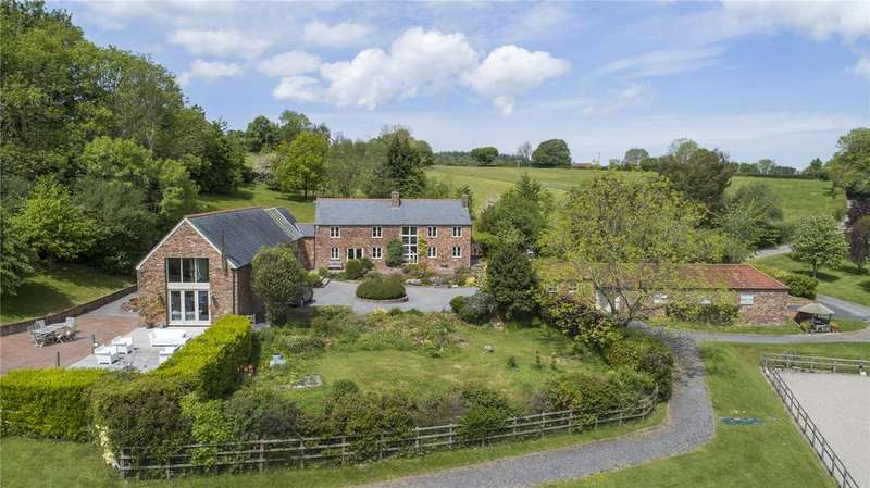 6 Bedrooms Equestrian Facility Character Property for sale in Aisholt, Bridgwater, Somerset, TA5