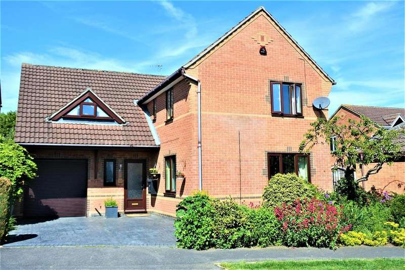 4 Bedrooms Detached House for sale in Longcliffe Road, Grantham