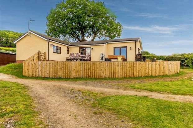 2 Bedrooms Detached Bungalow for sale in Sicklebrook Lane, Coal Aston, Dronfield, Derbyshire