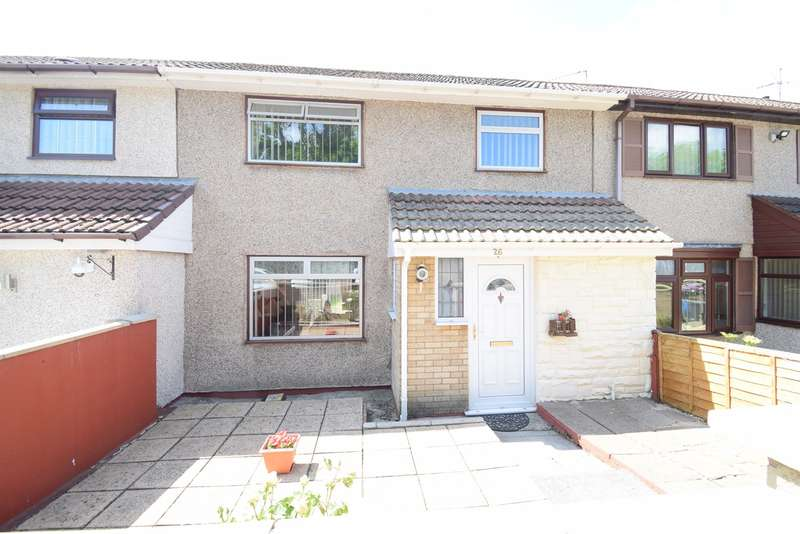 3 Bedrooms Terraced House for sale in Croeswen, Oakfield, Cwmbran, NP44