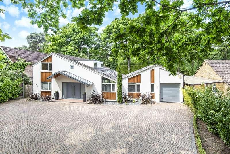 5 Bedrooms Detached House for sale in Dartnell Park Road, West Byfleet, Surrey, KT14