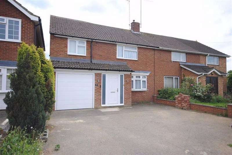 4 Bedrooms Semi Detached House for sale in Brooklands Drive, Leighton Buzzard