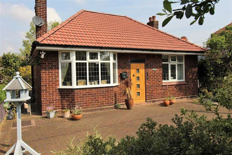 2 Bedrooms Bungalow for sale in Rilshaw Lane, Winsford