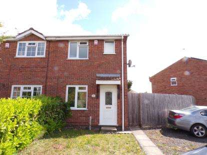 2 Bedrooms Semi Detached House for sale in Galleywood Drive, Leicester