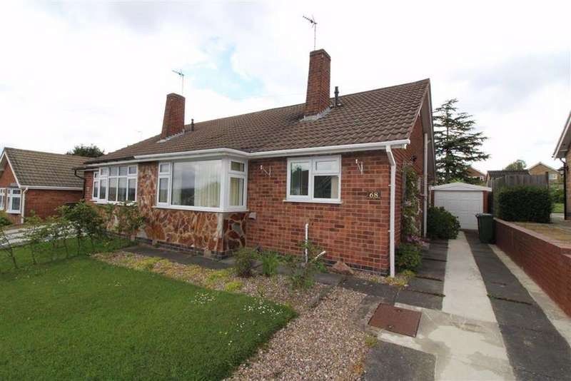 2 Bedrooms Semi Detached Bungalow for sale in Faire Road, Glenfield