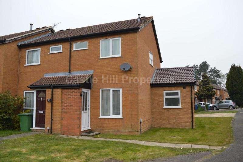 2 Bedrooms End Of Terrace House for sale in Frensham, Bracknell, Berkshire. RG12