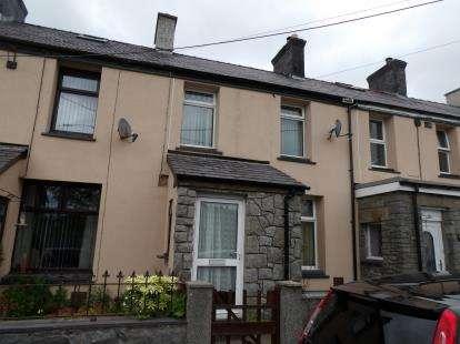 3 Bedrooms Terraced House for sale in Caradog Place, Deiniolen, Caernarfon, Gwynedd, LL55