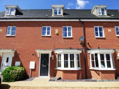 4 Bedrooms Terraced House for sale in Venus Way, Peterborough, Cambridgeshire