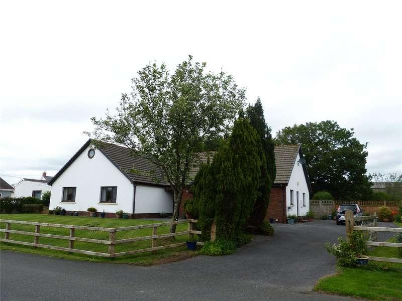 4 Bedrooms Detached Bungalow for sale in Dol Y Dderwen, Clynderwen, Pembrokeshire