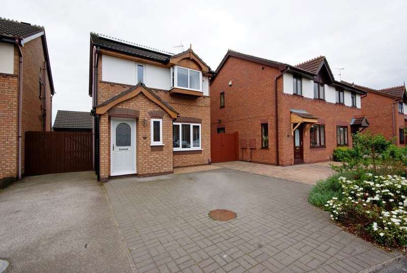 3 Bedrooms Detached House for sale in Earls Drive, Lincoln LN6