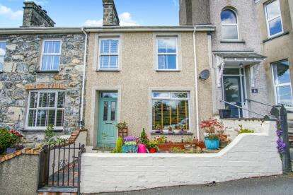 3 Bedrooms Terraced House for sale in Salem Terrace, Criccieth, Gwynedd, LL52