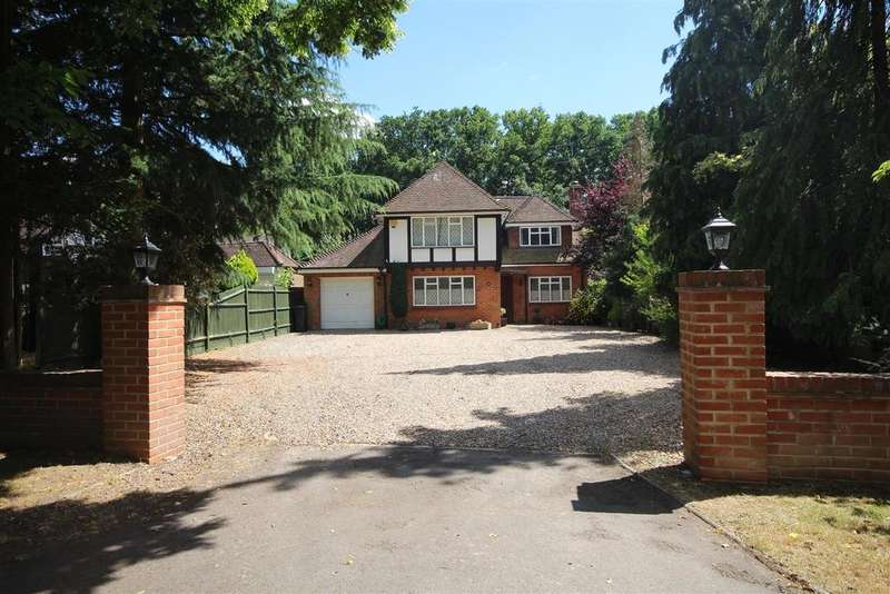 4 Bedrooms Detached House for sale in West Drive, Sonning, Reading