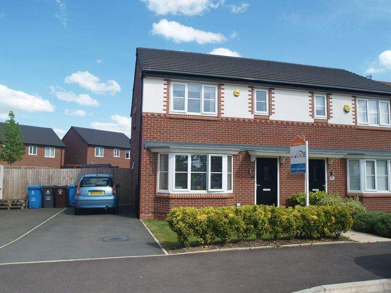 3 Bedrooms Semi Detached House for sale in Bearwood Road, Kirkby