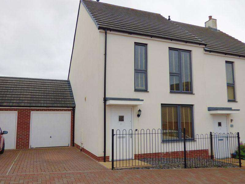 3 Bedrooms Semi Detached House for sale in Teagues Way, Cinderford