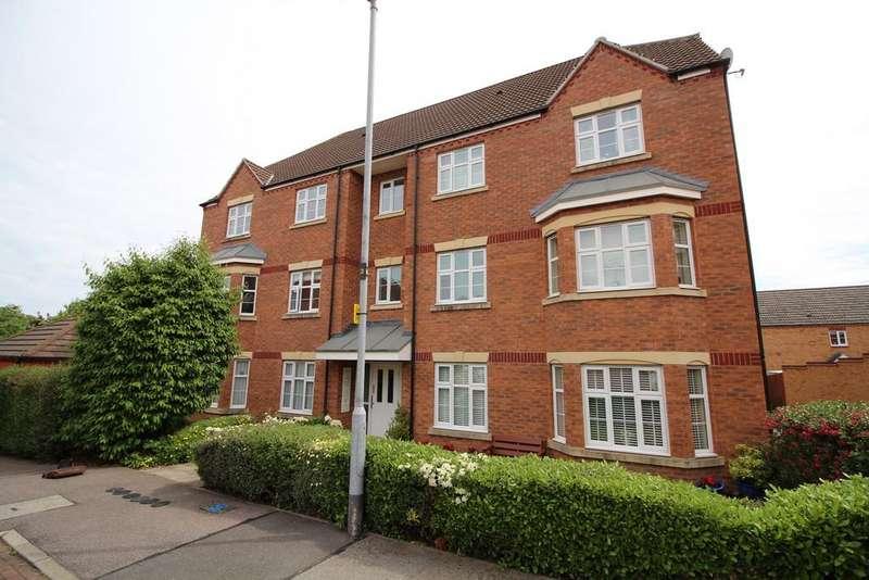 2 Bedrooms Apartment Flat for sale in Mendel Drive, Loughborough