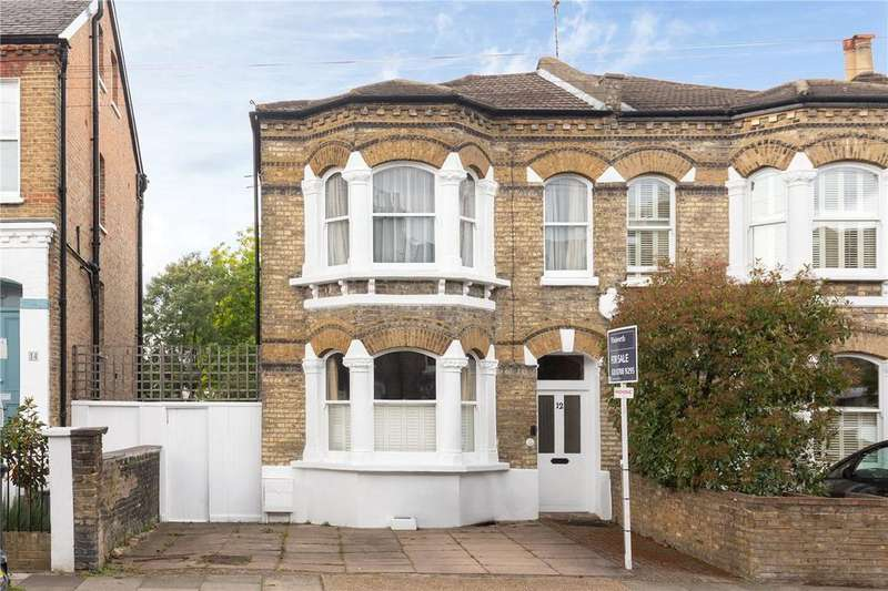 2 Bedrooms Semi Detached House for sale in Redgrave Road, London, SW15