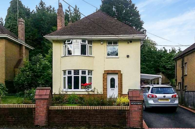 3 Bedrooms Detached House for sale in Underwood Avenue, Maesycwmmer, Hengoed, CF82