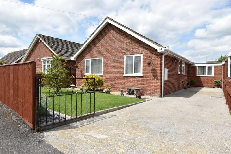 4 Bedrooms Detached Bungalow for sale in Albany Road, Louth. LN11 8ET