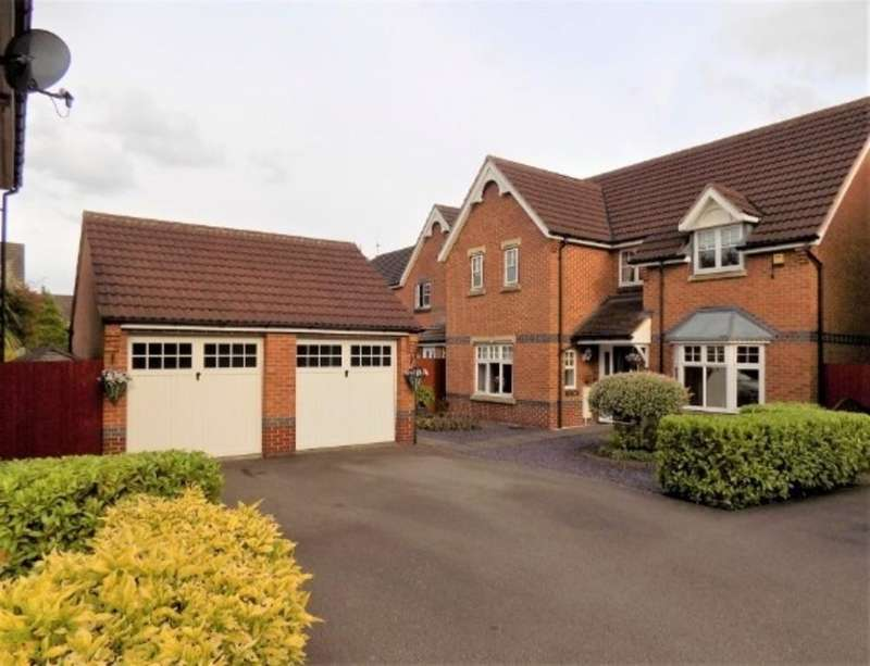 4 Bedrooms Detached House for sale in Milfoil Close, Hinckley