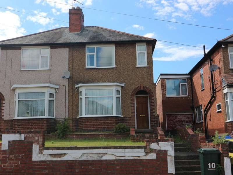 2 Bedrooms Semi Detached House for sale in 10 Burnham Road, Whitley, Coventry, CV3 4BT