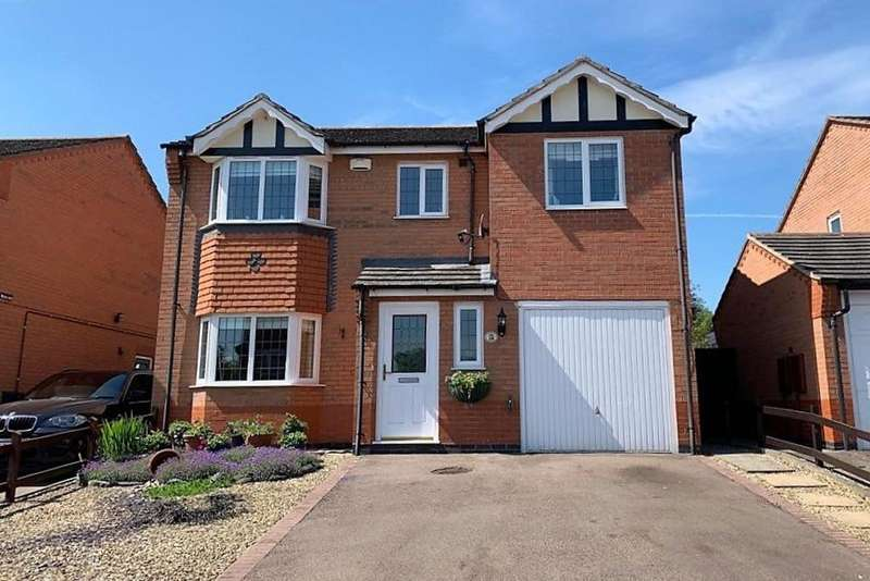 4 Bedrooms Detached House for sale in Marigold Crescent, Melton Mowbray