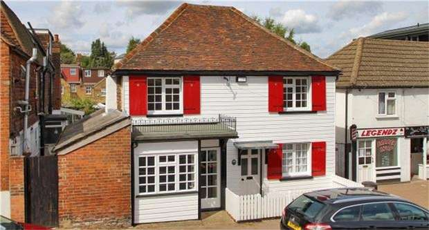 3 Bedrooms Link Detached House for sale in 57 St Johns Hill, Sevenoaks, Kent