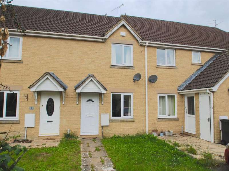 2 Bedrooms Terraced House for sale in Reeves Close, Cirencester