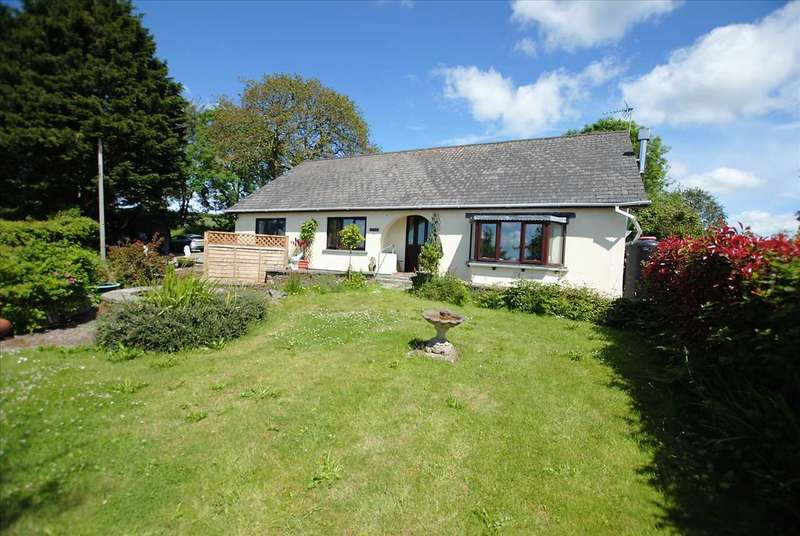 5 Bedrooms Detached Bungalow for sale in Wilden, Martletwy,, Nr. Narberth