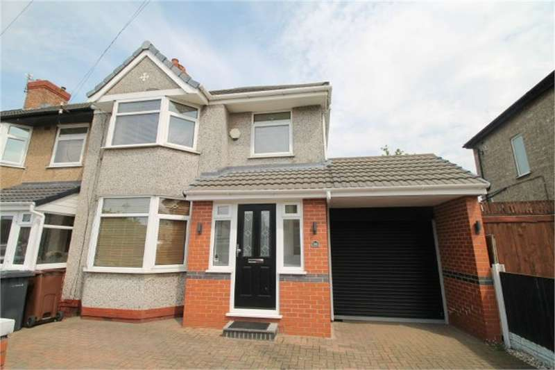3 Bedrooms End Of Terrace House for sale in Ripley Avenue, Litherland, LIVERPOOL, Merseyside