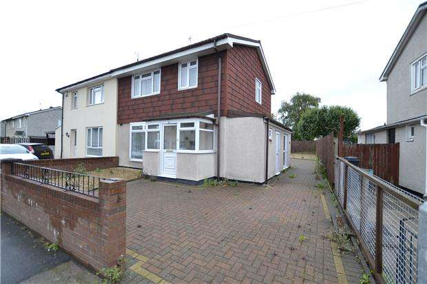 3 Bedrooms Semi Detached House for sale in West Town Road, Shirehampton, Bristol, BS11 9NW