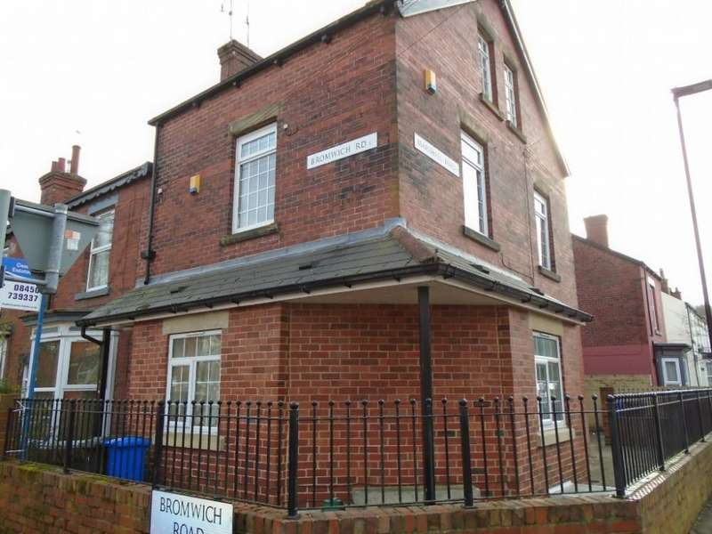2 Bedrooms Flat for rent in Bromwich Road, Woodseats, Sheffield, S8