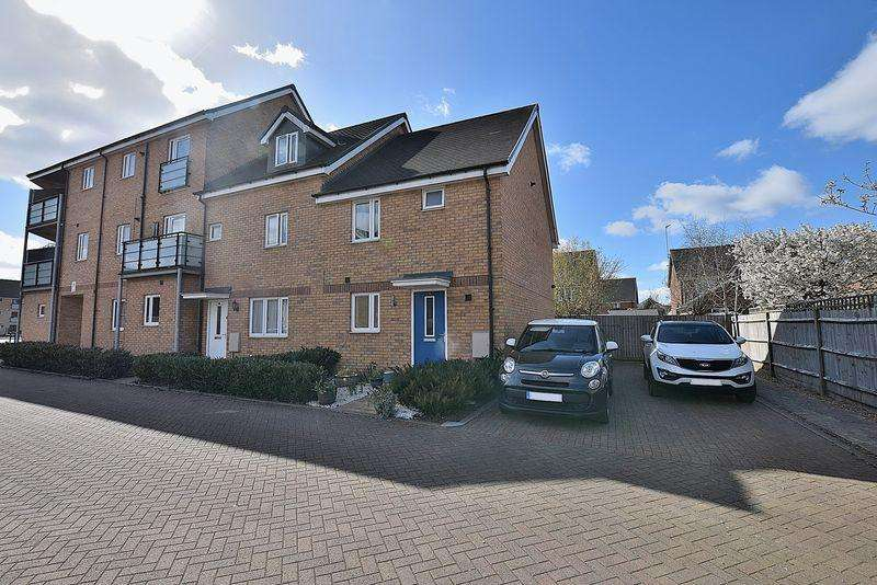 3 Bedrooms End Of Terrace House for sale in IDEAL first home with off road parking, en suite to master, ground floor cloakroom...