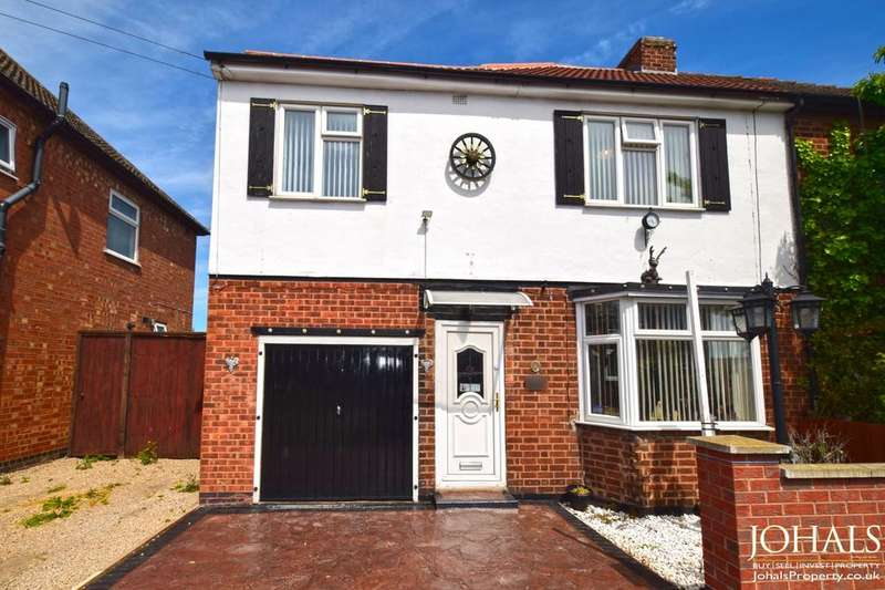 4 Bedrooms Semi Detached House for sale in Church Hill Road, Thurmaston, Leicester, LE4