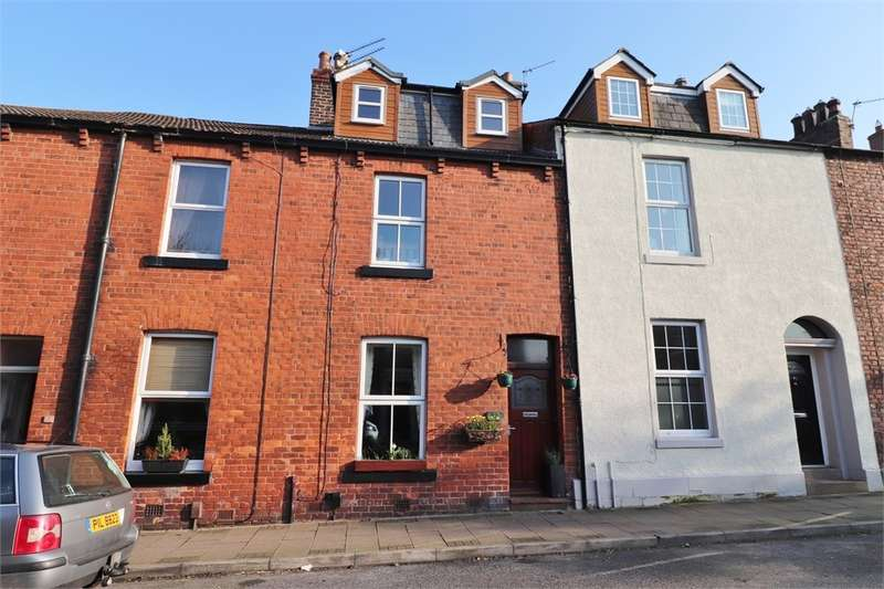 4 Bedrooms Terraced House for sale in Eden Street, Stanwix, Carlisle, CA3