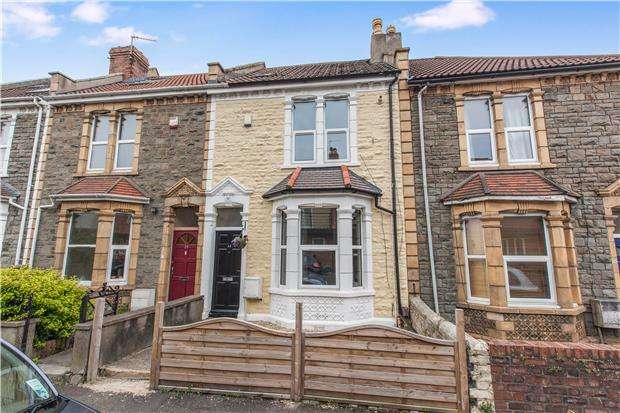 2 Bedrooms Terraced House for sale in Laxey Road, Horfield, Bristol, BS7 0JA