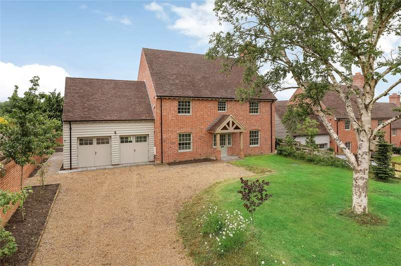 5 Bedrooms Detached House for sale in The Woods, Ampfield Hill, Romsey, Hampshire, SO51